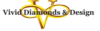 Vivid Diamonds & Design Logo